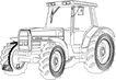 农业机械与庄稼0482,农业机械与庄稼,植物,