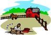 农业机械与庄稼0492,农业机械与庄稼,植物,