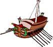 轮船等水上设备0375,轮船等水上设备,交通运输,