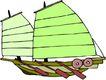 轮船等水上设备0376,轮船等水上设备,交通运输,