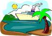轮船等水上设备0394,轮船等水上设备,交通运输,