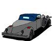 轿车0047,轿车,交通运输,灰色车身