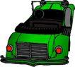轿车0048,轿车,交通运输,绿色车身