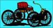 轿车0061,轿车,交通运输,自行车 人力车