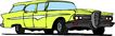 轿车0070,轿车,交通运输,黄色法拉利