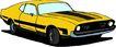 轿车0079,轿车,交通运输,黄色车子