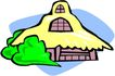 卡通建筑0094,卡通建筑,名胜地理,
