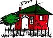 卡通建筑0123,卡通建筑,名胜地理,