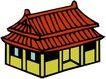 卡通建筑0172,卡通建筑,名胜地理,
