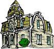 卡通建筑0511,卡通建筑,名胜地理,