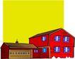 卡通建筑0582,卡通建筑,名胜地理,