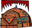 卡通建筑0589,卡通建筑,名胜地理,