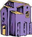 卡通建筑0607,卡通建筑,名胜地理,