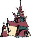 宗教建筑0276,宗教建筑,宗教习俗,