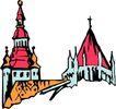 宗教建筑0286,宗教建筑,宗教习俗,