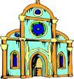 宗教建筑0297,宗教建筑,宗教习俗,