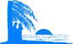 海边风景0109,海边风景,建筑风景,