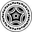 圆形形图案0129,圆形形图案,微章图案,