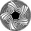 圆形形图案0136,圆形形图案,微章图案,
