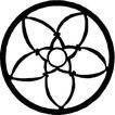 圆形形图案0155,圆形形图案,微章图案,