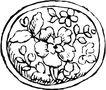 圆形形图案0159,圆形形图案,微章图案,