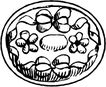 圆形形图案0161,圆形形图案,微章图案,