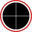 圆形形图案0289,圆形形图案,微章图案,