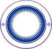 圆形形图案0292,圆形形图案,微章图案,