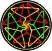 圆形形图案0305,圆形形图案,微章图案,