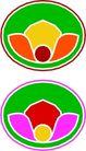 圆形形图案0308,圆形形图案,微章图案,