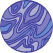 圆形形图案0331,圆形形图案,微章图案,