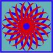 方形花纹0443,方形花纹,微章图案,