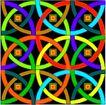 方形花纹0446,方形花纹,微章图案,