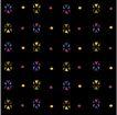 方形花纹0459,方形花纹,微章图案,