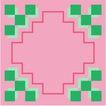 方形花纹0462,方形花纹,微章图案,