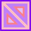 方形花纹0463,方形花纹,微章图案,