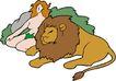 动物拟人化卡通0002,动物拟人化卡通,拟人卡通,老虎