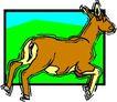 动物拟人化卡通0005,动物拟人化卡通,拟人卡通,山羊 弱小动物