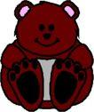 动物拟人化卡通0019,动物拟人化卡通,拟人卡通,布熊