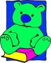 动物拟人化卡通0026,动物拟人化卡通,拟人卡通,书本