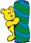 动物拟人化卡通0029,动物拟人化卡通,拟人卡通,狗熊