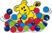 动物拟人化卡通0032,动物拟人化卡通,拟人卡通,一堆彩球