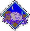 动物拟人化卡通0048,动物拟人化卡通,拟人卡通,月亮 晚上的动物