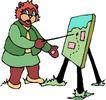 动物拟人化卡通0050,动物拟人化卡通,拟人卡通,牌子 讲解