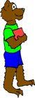 动物拟人化卡通0051,动物拟人化卡通,拟人卡通,动物