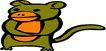 动物拟人化卡通0133,动物拟人化卡通,拟人卡通,