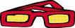 眼镜0034,眼镜,服装饰物,