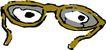 眼镜0055,眼镜,服装饰物,
