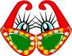 眼镜0067,眼镜,服装饰物,