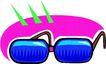 眼镜0088,眼镜,服装饰物,